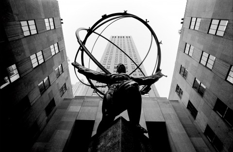 New York - Lee Lawrie : Atlas -