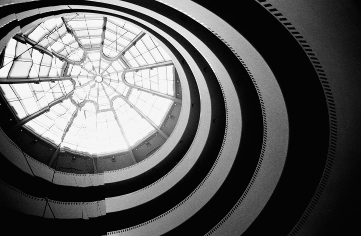 New York - Daniel Buren au Guggenheim -