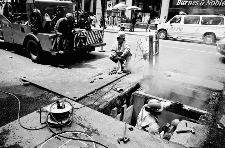 New York - Street workers -