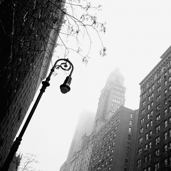 New York - Morning mist -