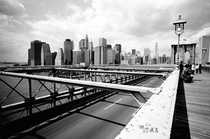 New York - Brooklin Bridge -
