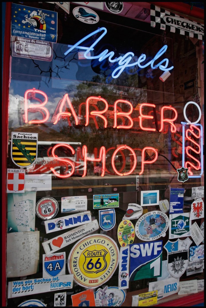 Angel barber shop, Seligman, Arizona, Etats Unis