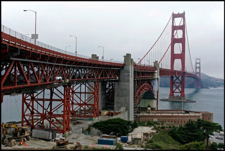 San Francisco, Golden Gate Bridge, Californie, États-Unis